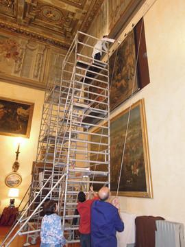 Roma, Palazzo Borghese, Circolo della caccia