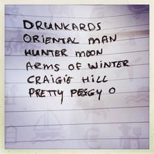Six songs...