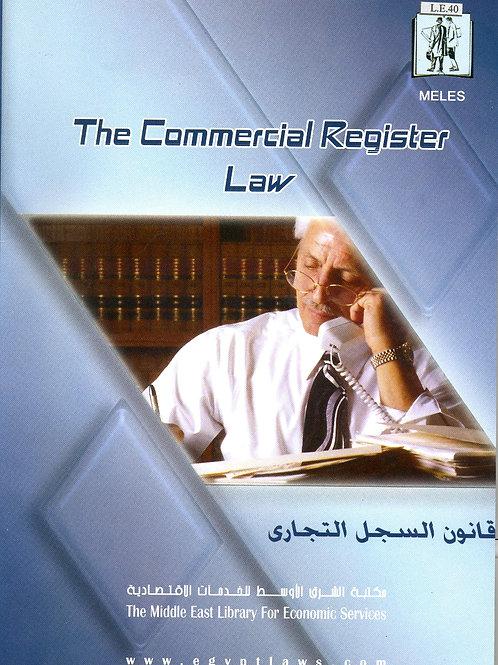 Commercial Register Law
