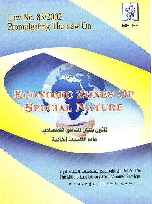 Economic Zones Of Special Nature Law