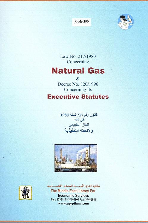 Natural Gas and Decree