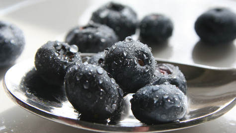 Blue Berries by Mark Blezard