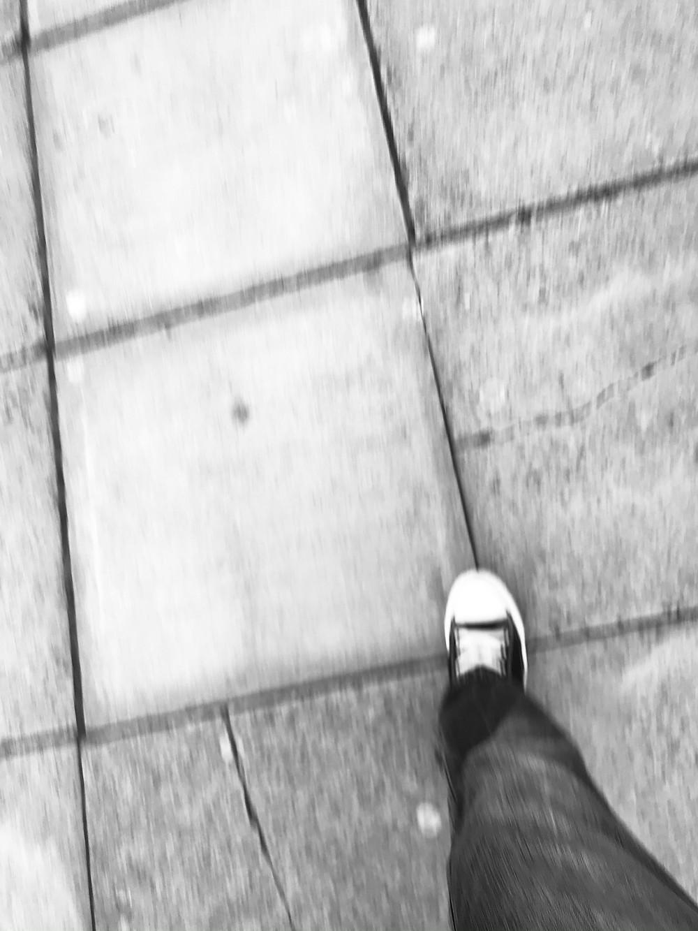 Mark Blezard talks about looking when you walk