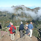 Pico do Arieiro on the island of Madeira