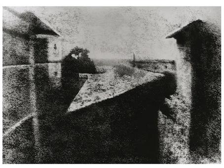 The first-ever photograph. Mark Blezard