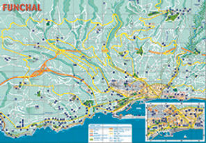 Download a free map of Funchal Madeira