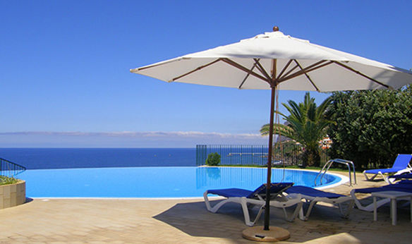 Holiday rental with swimming pool, Funchal Madeira by Mark Blezard