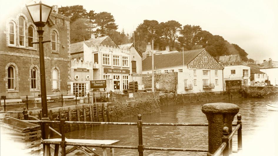 Fowey, Cornwall, by Mark Blezard