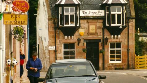 Scottish Village Life by Mark Blezard