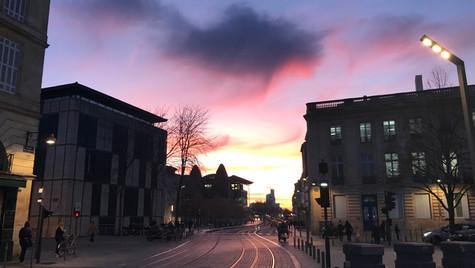 Bordeaux by Evening