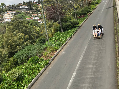 Wicker basket rides of Madeira. Mark Blezard comments.