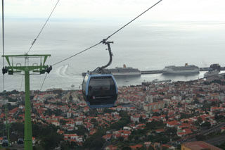 Funchal Madeira cable car