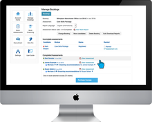 View and manage executives in one place