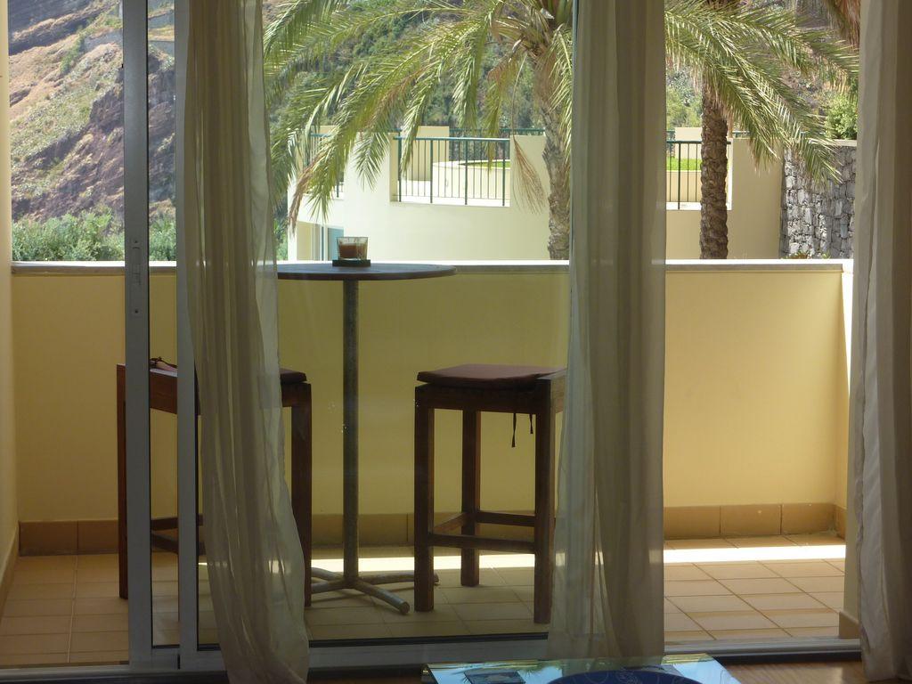 The living room balcony