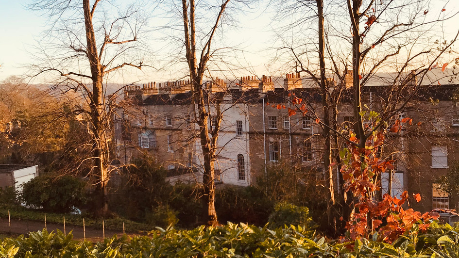 Marlborough Street from Victoria Park
