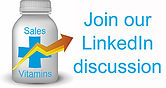 Join the fastest growing sales group in LinkedIn, Sales Vitamins