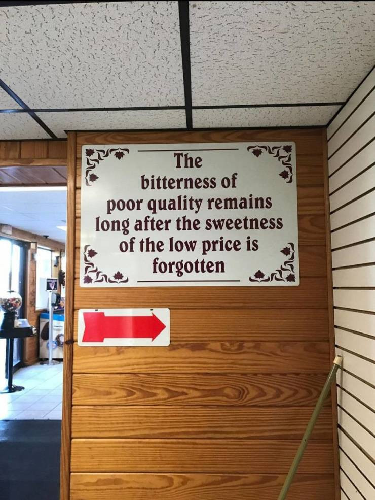 Price and Quality by Mark Blezard