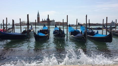 Venice Gondola by Mark Blezard
