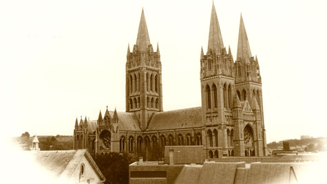 Truro Cathedral by Mark Blezard