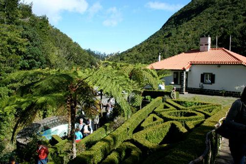 Ribeiro Frio sight seeing in Madeira