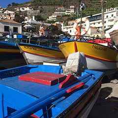 Câmara de Lobos is a short drive from Funchal and is a beautiful much-photographed village famed for being one of the preferred locations of Winston Churchill when painting.