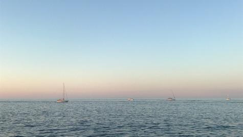 Sun-down in Malta