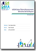 Download a sample USSA report here