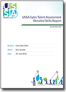 Sales skills audiit, the world's best sales assessment