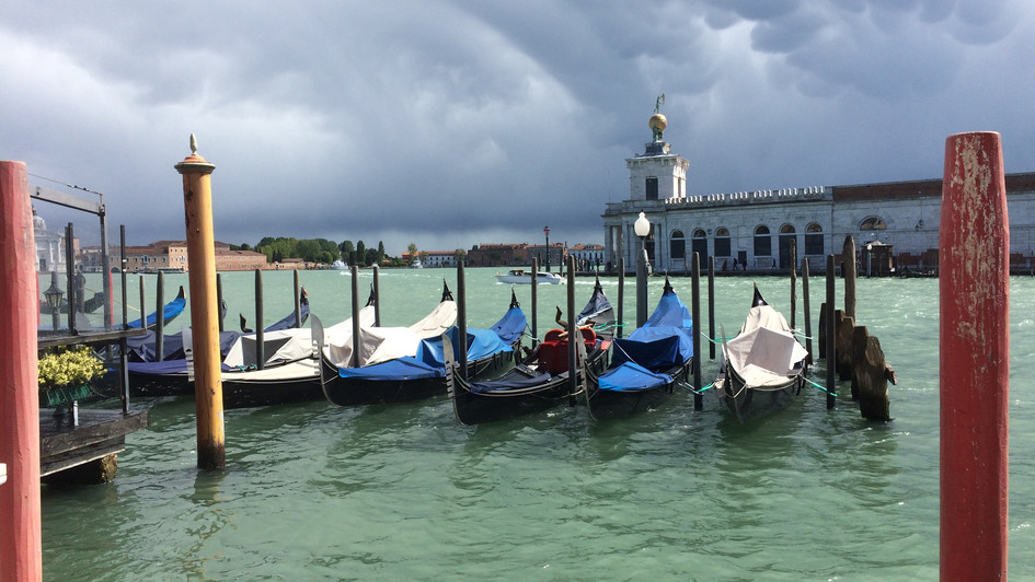 Storm Coming in Venice