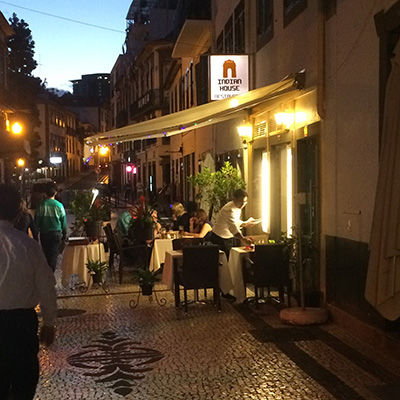 Rua Da Carreira in Madeira has many good restaurants