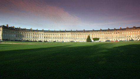 The Royal Crescent by Mark Blezard