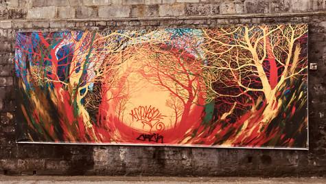 Street Art Meets The Vandal
