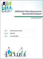 Retail sales executive assessment. Retail sales test