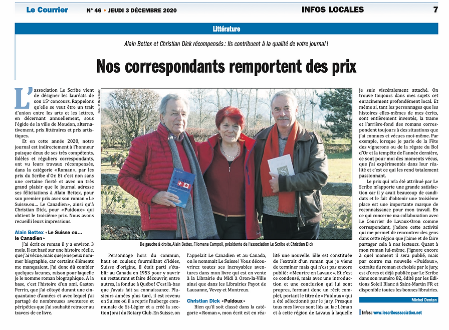 2020-12-03 Le Courrier _ Bettex et Dck.p