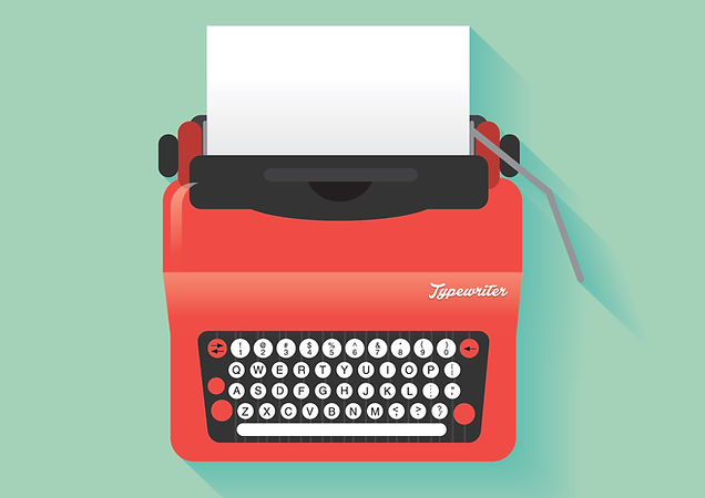 Red Typewriter