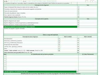 Certificados de Ingresos y Retenciones del año gravable 2015