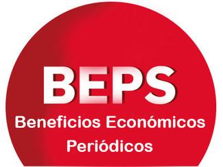 Deberán afiliarse al sistema BEPS de Beneficios Económicos Periódicos