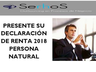 Declaración de Renta Persona Natural