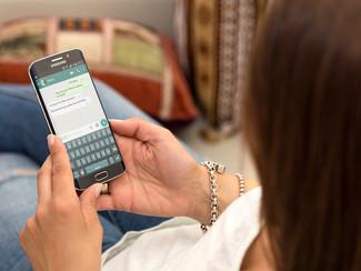 La información enviada a los Grupos de WhatsApp creados por los empleados no tiene carácter de confi