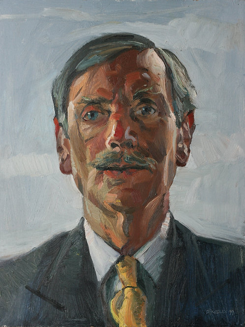 Oil Study of Colin Parsons
