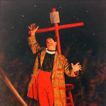 Rev. Roly Bain, Clown