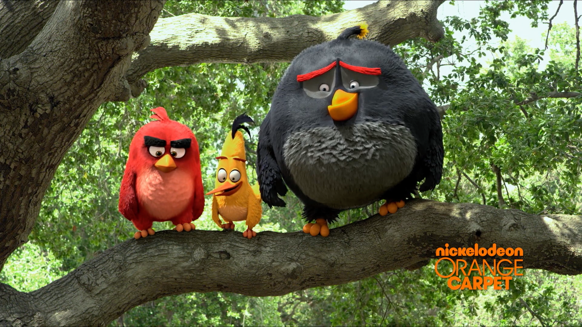 Nickelodeon / Angry Birds