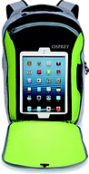 osprey, cyber, port, backpack, ipad, travel
