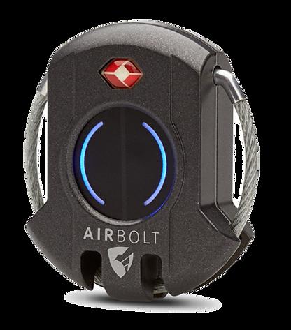 airbolt,bluetooth,luggage,pad lock,lock,travel