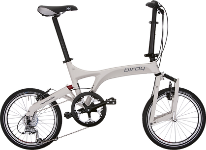 birdy, light, folding, bike, bicycle, collapse, collapsing, commute, ride, steed, wheels, commuting, train, car
