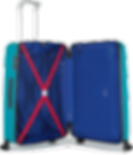 antler, prospero, large, suitcase, pocket, wheels, 104, litres, travel