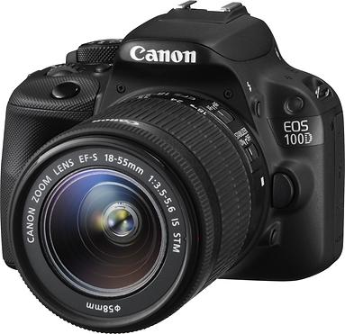canon, 100d, dslr, slr, d-slr, camera, digital, consumer