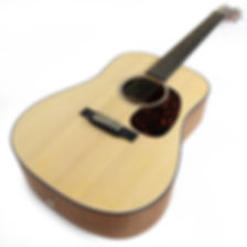 martin, dreadnought, junior, travel, acoustic, guitar