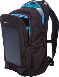birksun, elevate, solar, charger, backpack