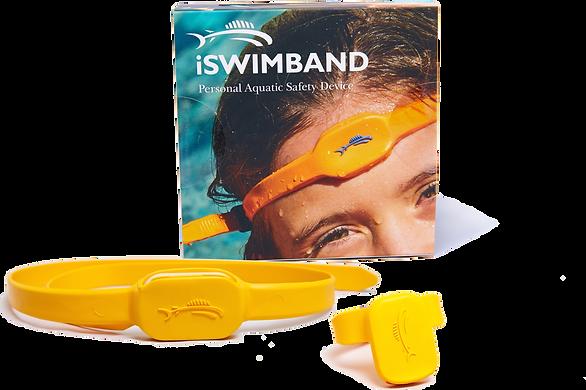 iswimband, band, swim, save, lifesaver, drowning, device